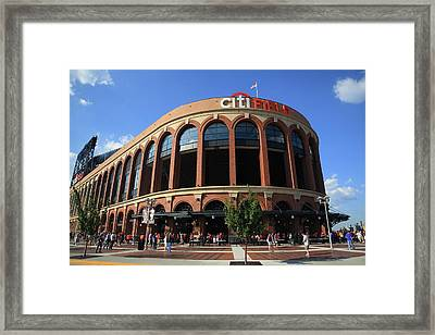Citi Field - New York Mets Framed Print