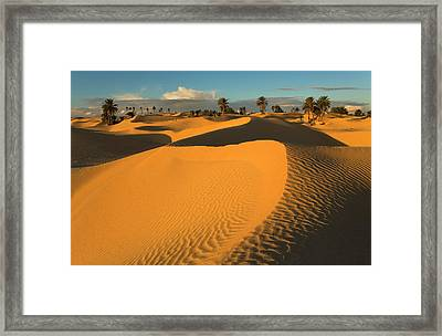Douz Framed Print