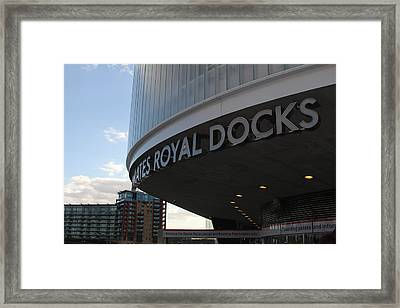 Emirates Air Line Framed Print by Ash Sharesomephotos