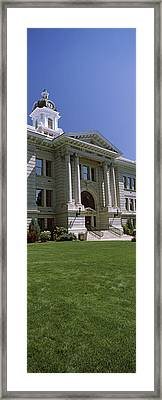 Facade Of A Government Building Framed Print by Panoramic Images