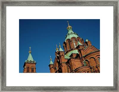 Finland, Helsinki Framed Print