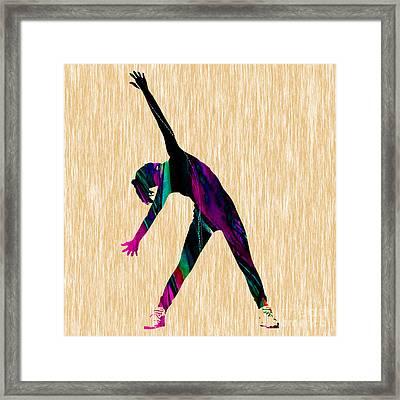 Fitness Framed Print by Marvin Blaine