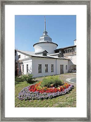 Flowerbed Framed Print by Evgeny Pisarev