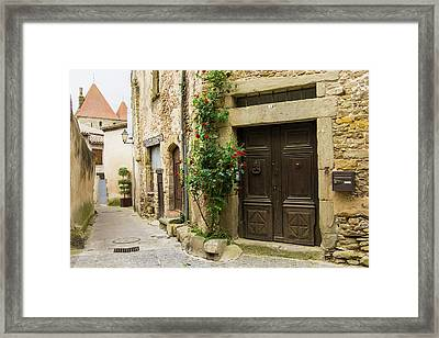 France, Languedoc-roussillon, Ancient Framed Print