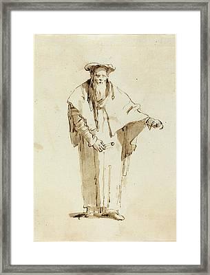 Giovanni Battista Tiepolo Italian, 1696 - 1770 Framed Print by Quint Lox
