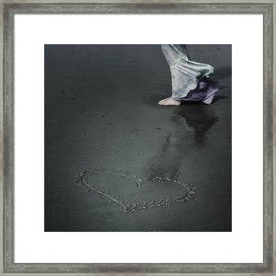Heart Framed Print by Joana Kruse