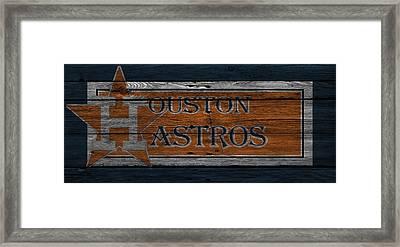 Houston Astros Framed Print