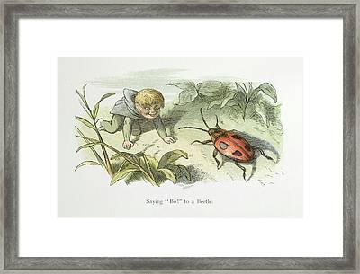 In Fairy Land Framed Print