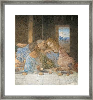 Italy, Lombardy, Milan, Refectory Framed Print