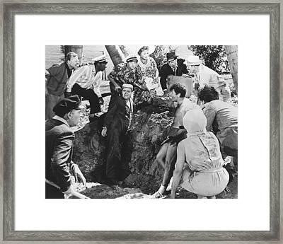 It's A Mad Mad Mad Mad World  Framed Print by Silver Screen