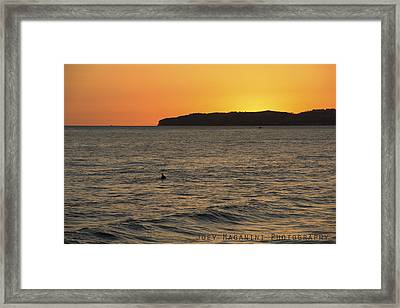 10 Framed Print by Joey  Maganini
