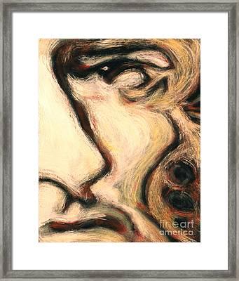 10.  John Tyler Framed Print