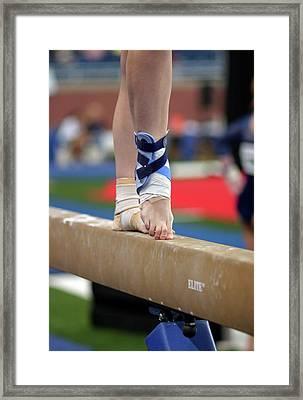 Junior Olympics Framed Print by Jim West