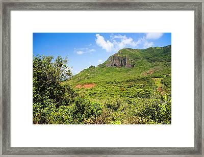 Kauai, Hawaii, Usa Framed Print