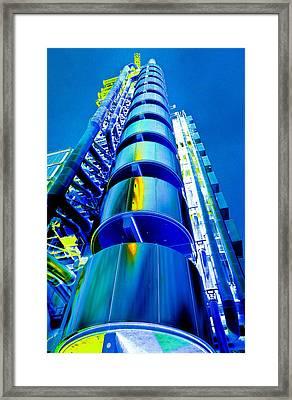 Lloyd's Building London Art Framed Print