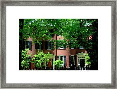 10 Louisburg Sq Beacon Hill Framed Print