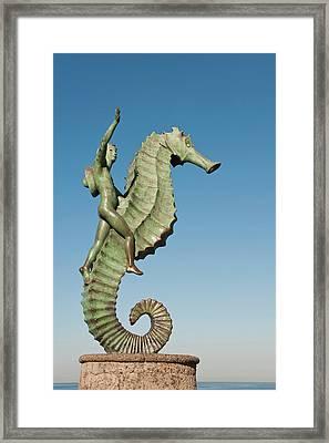 Mexico, Puerto Vallarta Framed Print by Michael Defreitas