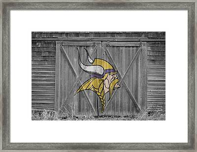 Minnesota Vikings Framed Print