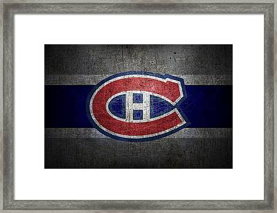 Montreal Canadiens Framed Print by Joe Hamilton