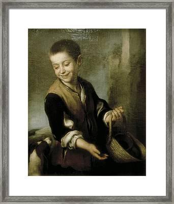 Murillo, Bartolom� Esteban 1617-1682 Framed Print by Everett