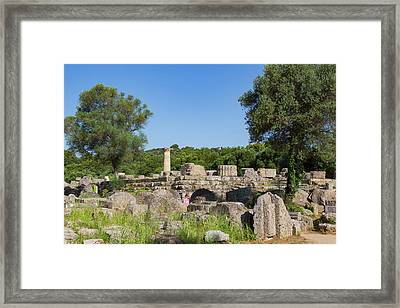 Olympia, Greece Framed Print