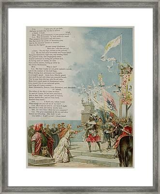 Othello. The Moor Of Venice Framed Print