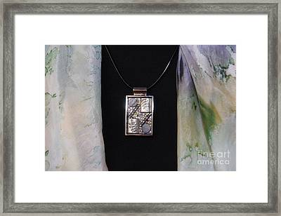 Pendant Framed Print by Afrodita Ellerman