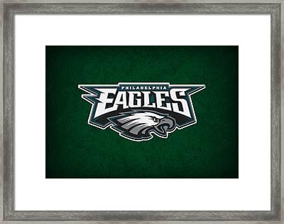 Philadelphia Eagles Framed Print by Joe Hamilton