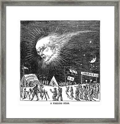 Presidential Campaign, 1872 Framed Print