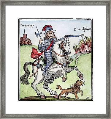Prince Rupert (1619-1682) Framed Print by Granger