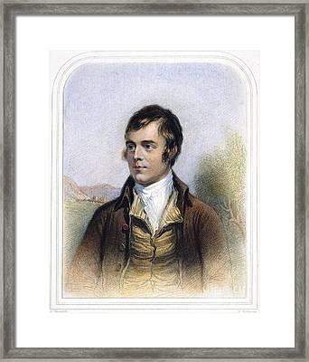 Robert Burns 1759-1796 Framed Print by Granger