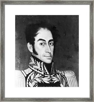 Simon Bolivar (1783-1830) Framed Print
