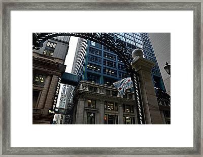 10 South Lasalle Framed Print