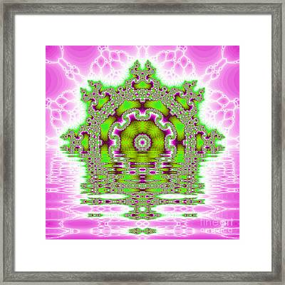The Kaleidoscope Reflections Framed Print by Odon Czintos