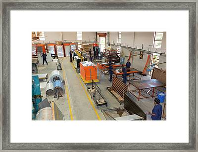 The Kamal Factory In Bangalore Framed Print by Ashley Cooper