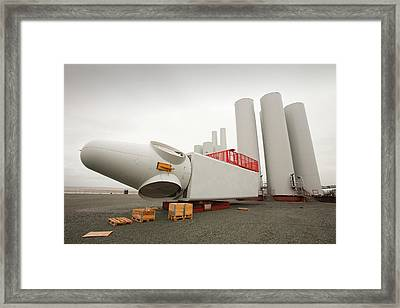 The Walney Offshore Wind Farm Framed Print by Ashley Cooper