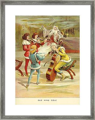 Uk Illustrations Book Plate Framed Print by The Advertising Archives