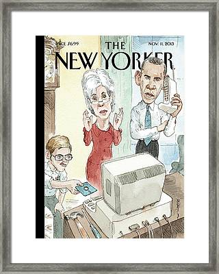 New Yorker November 11th, 2013 Framed Print