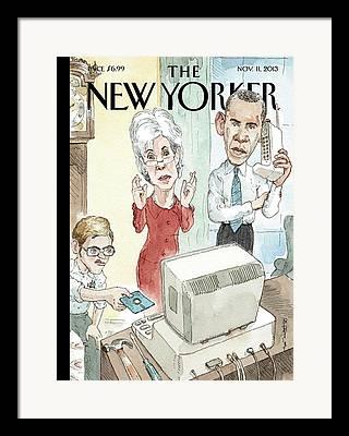 Obamacare Framed Prints