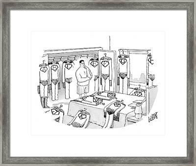 New Yorker July 31st, 2006 Framed Print by Glen Le Lievre