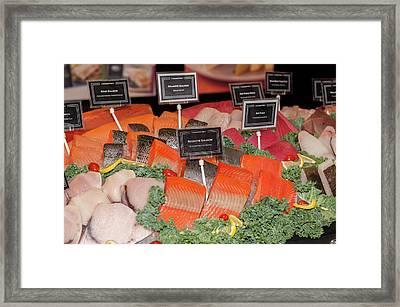 Usa, Massachusetts, Boston, Boston Food Framed Print by Jim Engelbrecht
