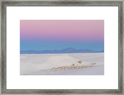 Usa, New Mexico, White Sands National Framed Print by Jaynes Gallery