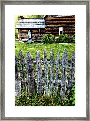 Usa, North Carolina, Great Smoky Framed Print by Jaynes Gallery