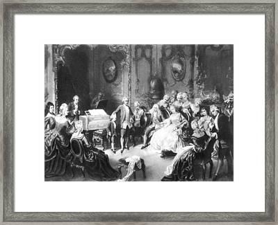 Wolfgang Amadeus Mozart (1756-1791) Framed Print by Granger