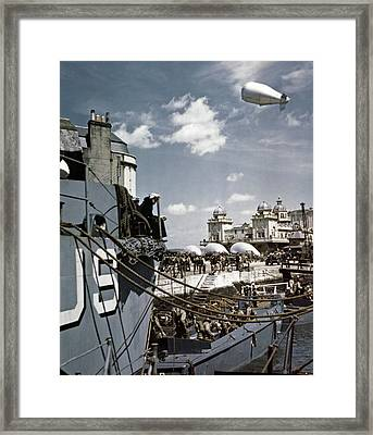 Wwii D-day, 1944 Framed Print by Granger