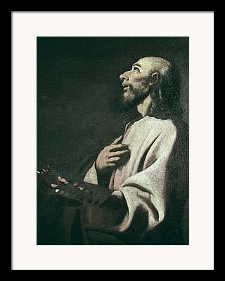 Saint Luke The Evangelist Photographs Framed Prints