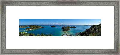 100 Islands National Park Framed Print