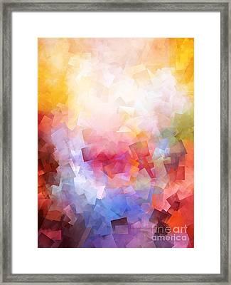 1000 Pieces Framed Print