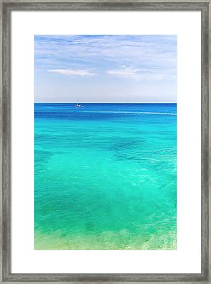 1000 Shades Of Blue Framed Print