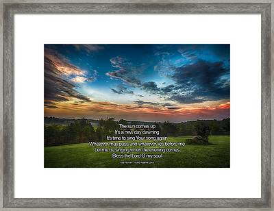 10000 Reasons Framed Print